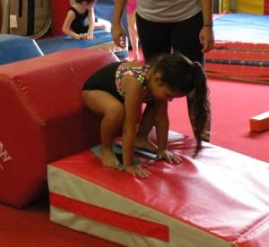 Hoppin Tot gymnast